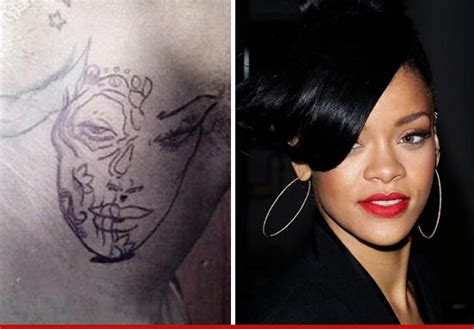 chris brown rihanna tattoo chris brown tattoos rihanna s on his neck