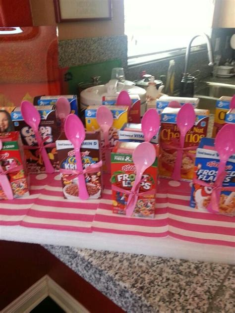 themes for girl sleepovers pink slumber party parties pinterest breakfast home