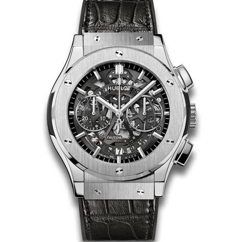 hublot titanium hublot aero chronograph titanium classic fusion watches