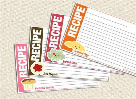 printable recipe cards 3x5 food friends 3x5 inch printable recipe cards