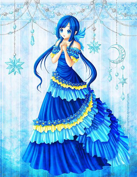 anime princess forget me not by eranthe on deviantart