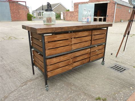Rustic Kitchen Sideboard by Stunning Industrial Rustic Pine Oak Kitchen Island