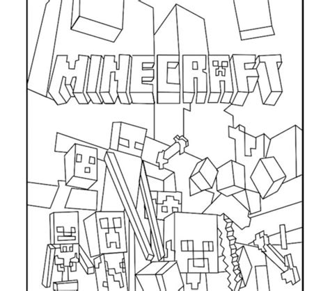 minecraft coloring pages google search coloring pages for kids