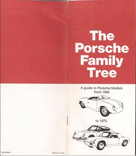 porsche family tree the porsche family tree usa origineel