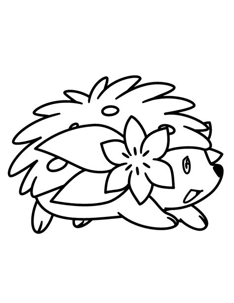 pokemon coloring pages shaymin kids coloring pages page 21 of 48 got coloring pages