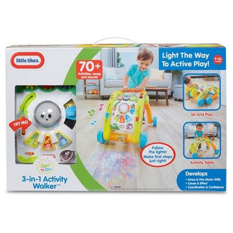 tikes 174 light n go 3 in 1 activity walker target