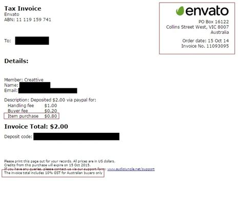 themeforest invoice locked important information for us authors
