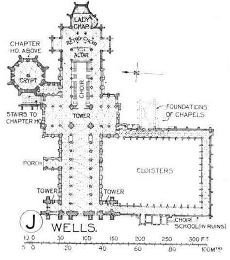 Wells Cathedral Floor Plan | durham cathedrals and floor plans on pinterest