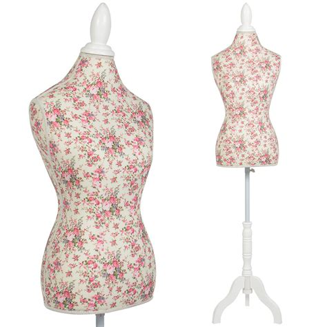 Or Mannequin by Mannequin Torso Dress Form Display W White Tripod