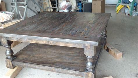 Ana White   Pretty, massive coffee table   DIY Projects