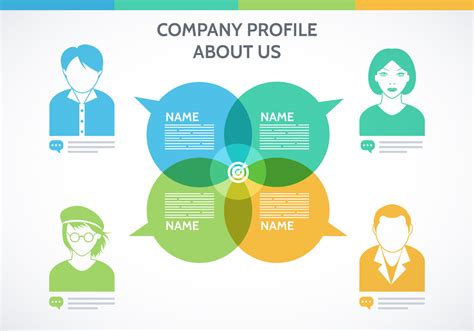 Company Profile Template Vector Download Free Vector Art Stock Graphics Images Company Profile Template Free