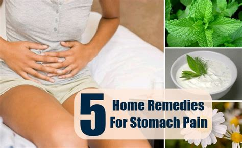 5 home remedies for stomach remedy