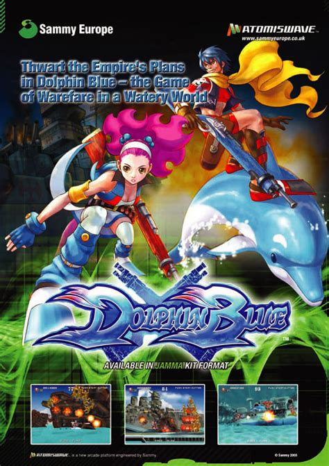 dolphin blue details launchbox games