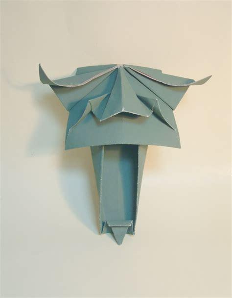 Origami Origin - david lister origami 171 embroidery origami