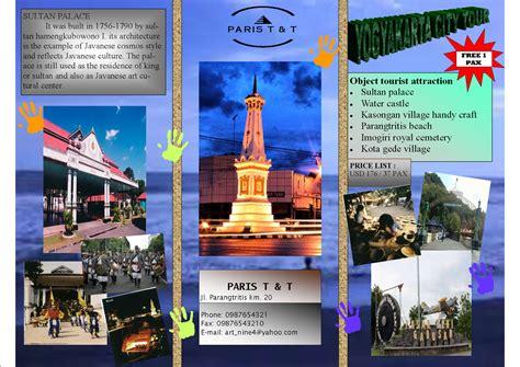 Desain Brosur Pariwisata | smk pariwisata bantul desain brosur wisata dan butik