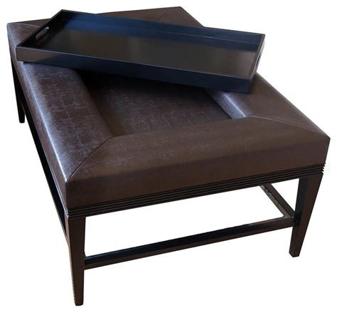 carlisle coffee table ottoman contemporary coffee