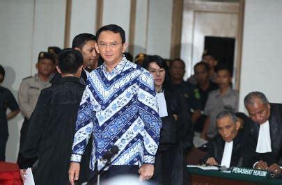 ahok jail jakarta s governor ahok jailed for 2 years for blasphemy