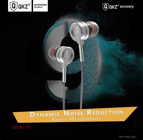 Qkz Bass Metal Earphone With Mic Qkz Dm9 knowledge zenith bass metal earphone with mic qkz dm9 silver jakartanotebook