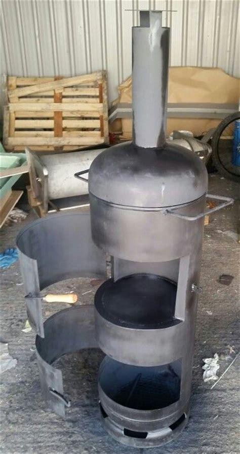 wood burner  pizza oven gas bottle wood burner diy