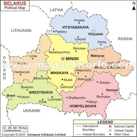 political map of belarus belarus map and belarus satellite images
