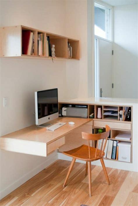 bureau design bois clair mzaol