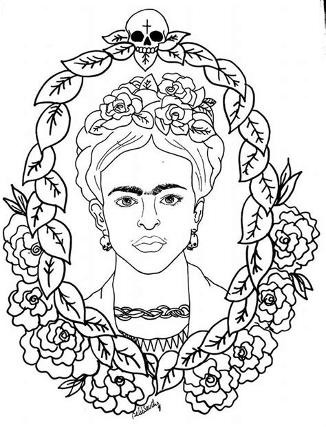 frida kahlo paintings coloring pages coloring pages