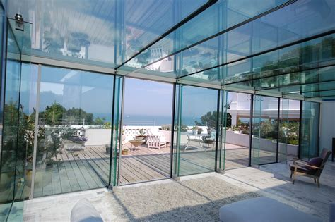 glass room glass room modern house