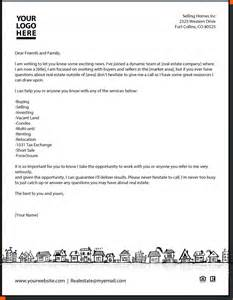 real estate introduction letter memo formats