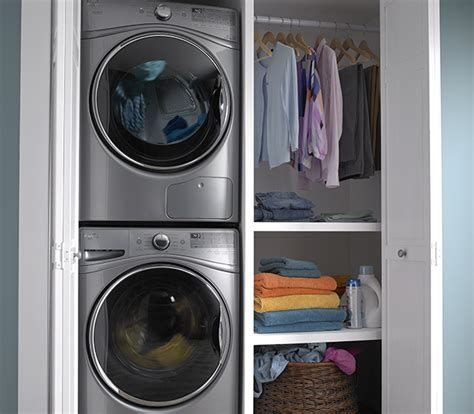 washer dryer depth what is a closet depth washer fred s appliance