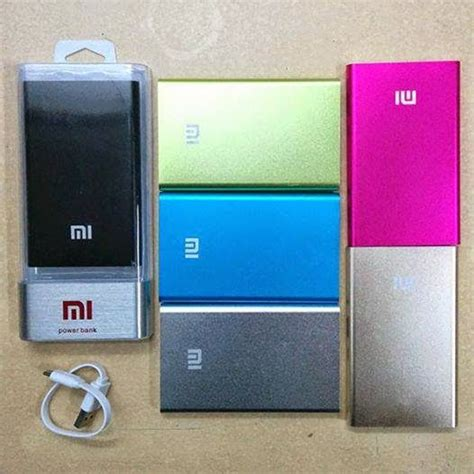 Powerbank Slim Viverr 20 000mah xiaomi powerbank 10400 mah original real kapasitas putih