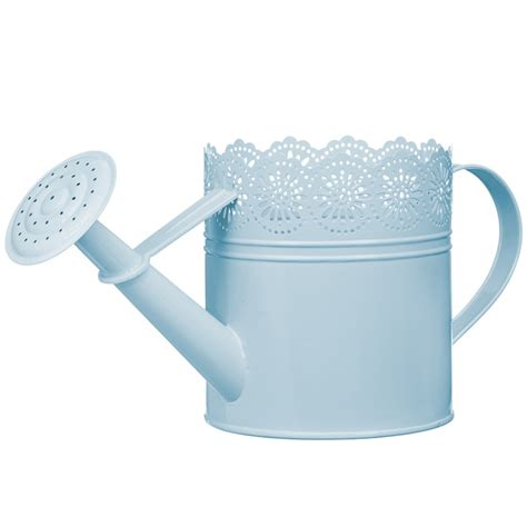 decorative watering cans decorative watering can blue garden b m