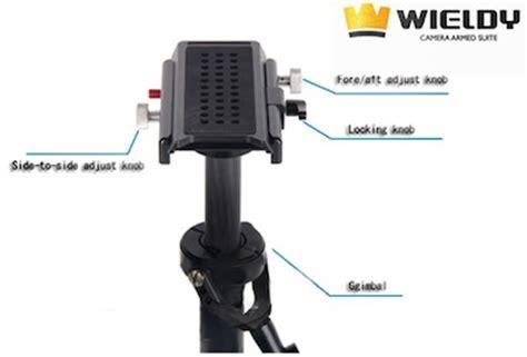 Wieldy Pro 1 7 5kg Vest Dual Arm Systems For Dslr wieldy ii stabilizer vest system cheesycam