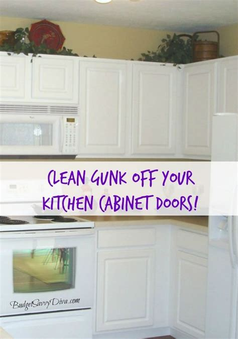 How To Clean Cabinet Doors Kitchen Cabinets Cabinets And Cleanses On Pinterest