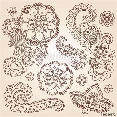 doodle significato quot henna paisley mandala doodle vector design