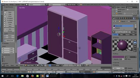 tutorial membuat kamar tidur dengan blender alma fajrini tutorial membuat ruang kamar 3d dengan