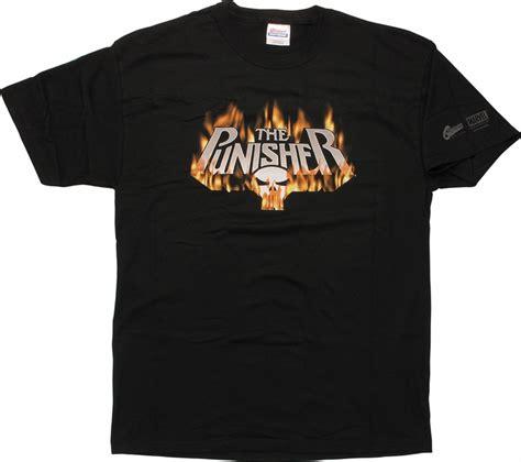 T Shirt Punisher Logo punisher flames logo t shirt