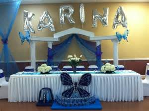 quinceanera butterfly theme decorations my centerpieces for a quincea 241 era using white