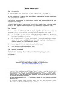 refund policy template best photos of policy outline format policy format
