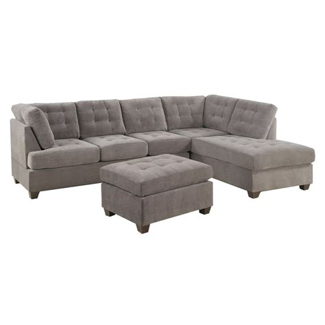 small gray sectional sofa remarkable grey reclining sectional sofa 18 on small