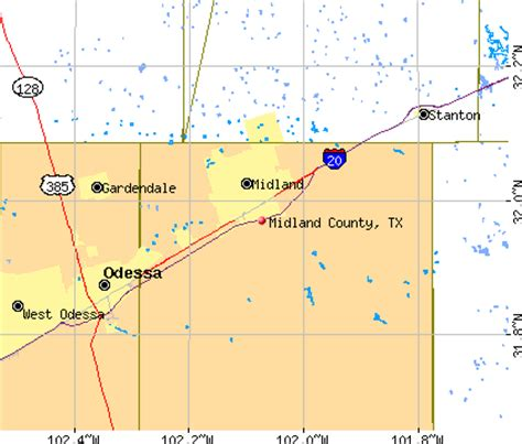 midland texas map midland county texas detailed profile houses real estate cost of living wages work