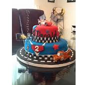Coolest Cars 2 Cake For A Year Old Boy
