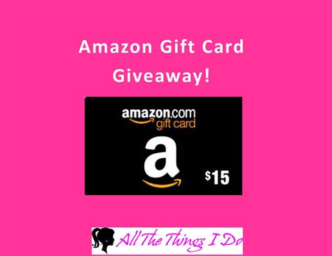 Gift Card Giveaways - my 2015 holiday wishlist plus a amazon gift card giveaway