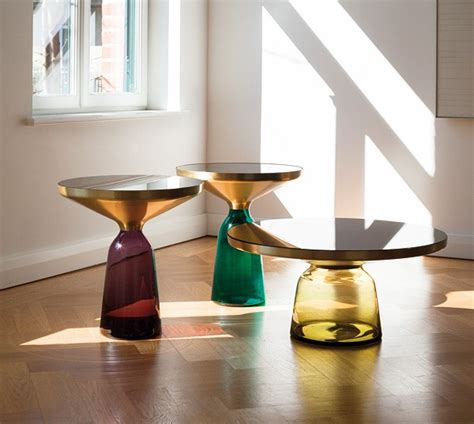 replica salontafel design moderne mode ontwerp ronde glazen bel salontafel replica