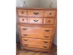solid maple bedroom furniture last chance 6 piece solid maple bedroom set only 500 dekalb dekalb sycamore garage sales