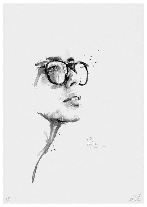 White Black Sketch spontaneous and realistic black and white pencil