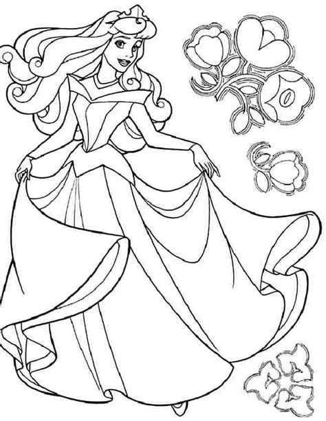disney princess aurora coloring pages az coloring pages