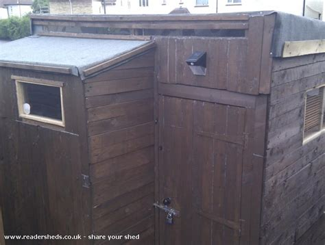 Alans Sheds by Alan S Shed From Bottom Of Garden South