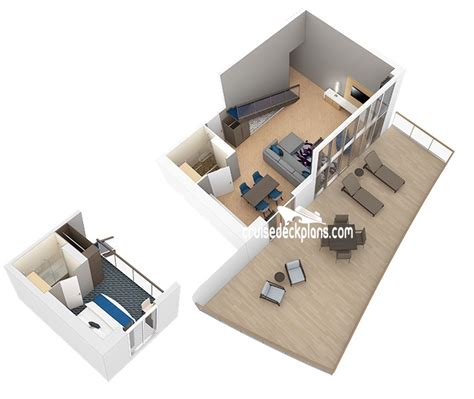 Master Bedroom Suite Plans by Harmony Of The Seas Deck Plans Diagrams Pictures Video