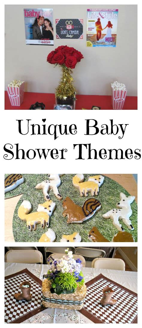 Unique Baby Shower Themes For A by Unique Baby Shower Themes Val Event Gal