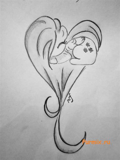 Пони рисунки карандашом для срисовки